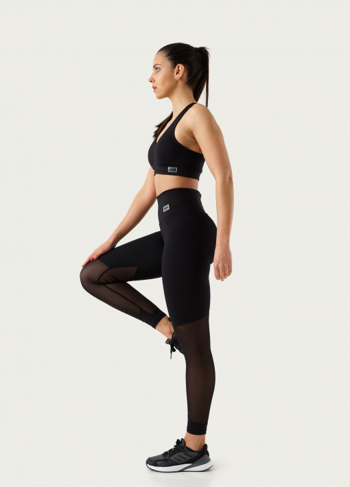 Leggings with Mesh at the Knee
