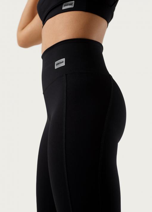 leggings con ajuste lateral