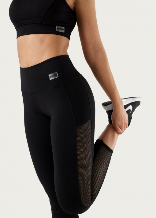 Leggings con Red Lateral