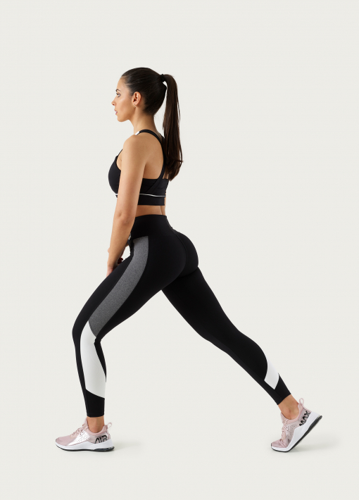 leggings with band two colors
