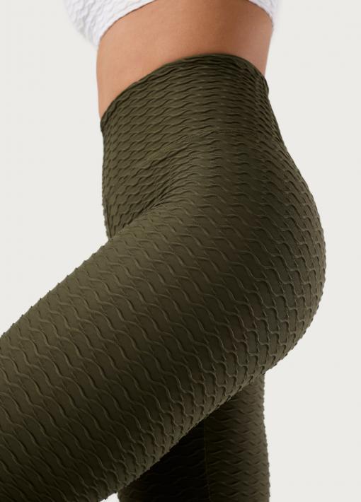 leggings con relieve