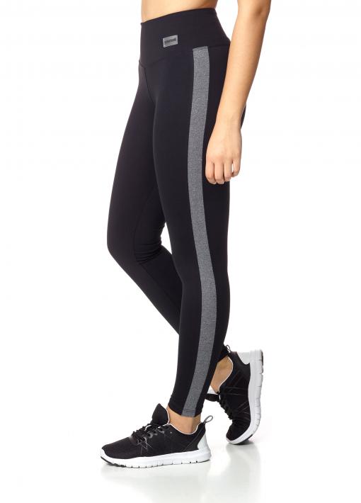 leggings com faixa lateral