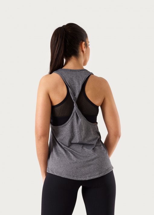 twisted top on the back