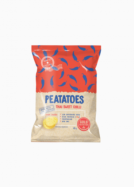 Peatatoes Protein Chips