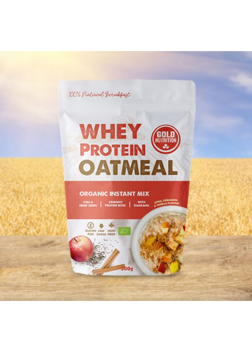 WHEY PROTEIN OATMEAL