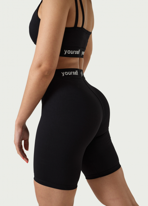 Cyclist Shorts with Elastic