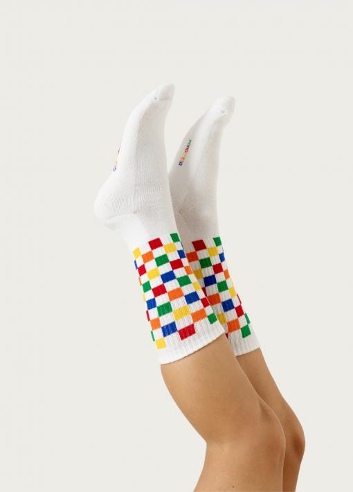 Old School Color Socks